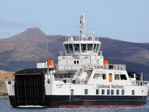 calmac hybrid ferry